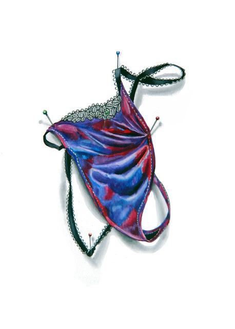 Ce dessin représente le string proposé par Laurence