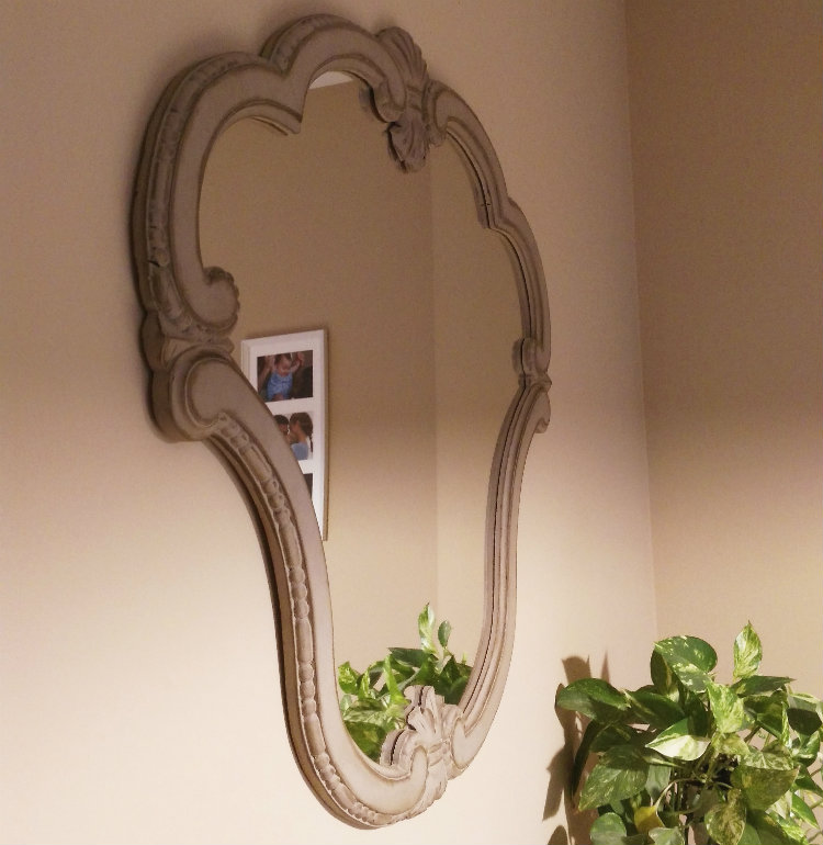 Espejo barroco restaurado