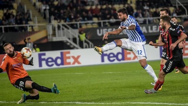 Europa League: Vardar kassiert Klatsche gegen Real Sociedad