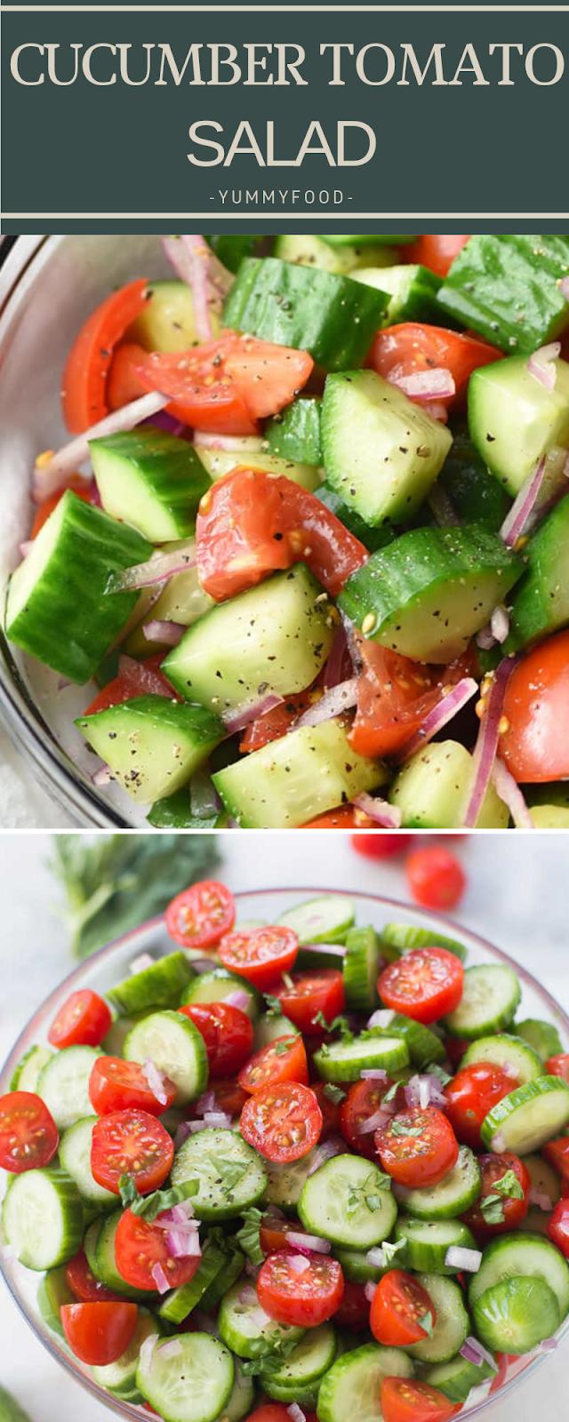 сuсumbеr tоmаtо salad