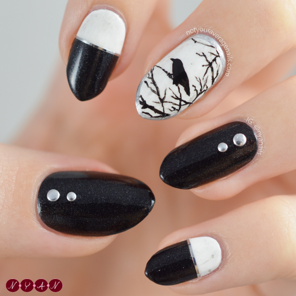N.Y.A. Nails: Once Upon a Midnight Dreary
