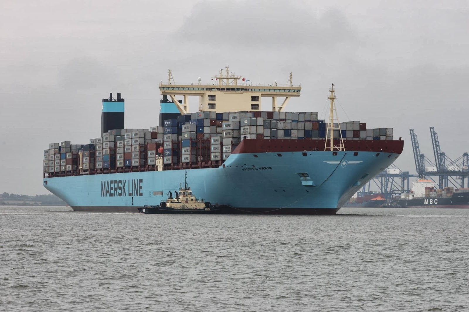Felixstowe Dockers: World's Container Ship Fleet Will Double