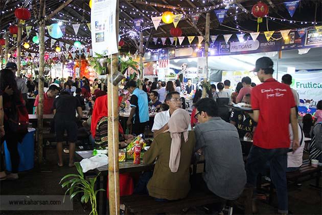 pontianak food festival 2018 pesta makan makan terbesar