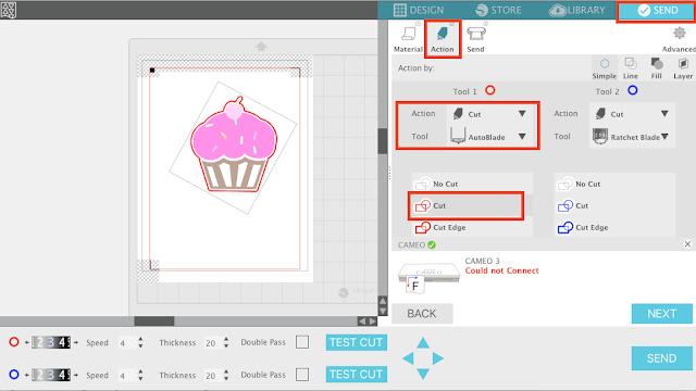 silhouette studio v4 cut lines, silhouette studio v4 no cut, silhouette cameo v4 cut, print and cut help