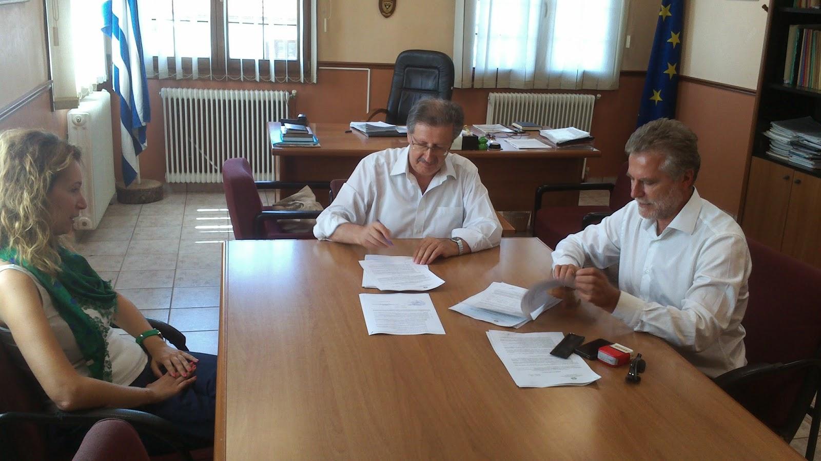 ΝΕΣΤΟΡΙΟ: Υπογραφή έργου «Ανάπλαση οικισμών Επταχωρίου-Ζούζουλης»