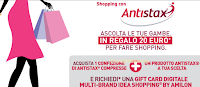 Logo Antistax ti regala buoni Idea Shopping : premio sicuro