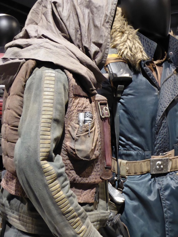 Jyn Erso Rogue One costume detail