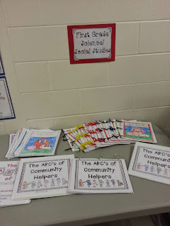 Parent-Teacher conference night- paper work, conferences, and work displays for parent teacher night