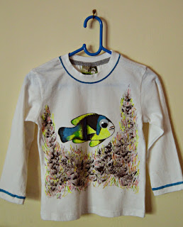 Under the Sea and Fish Tshirt Craft