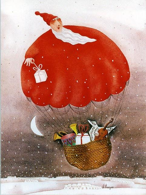 Fotos Simpaticas De Papa Noel.Pinzellades Al Mon Simpatiques Il Lustracions De Pare Noel