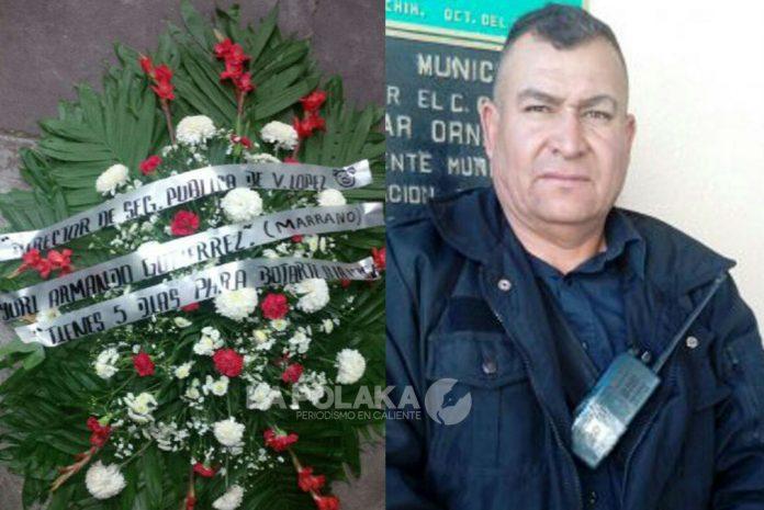 """Comandante Entrega La Plaza; """"Tienes 5 días para botarte a la verG...@, le escribieron en ramo fúnebre"""
