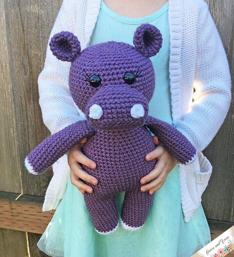 Hippopotamus Toy Knitted In The Technique Of Knitting Amigurumi ... | 878x800
