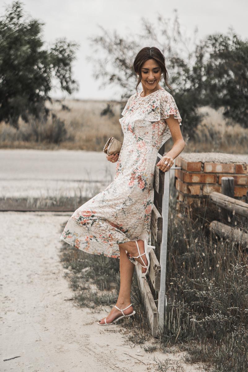 vestido de flores para bodas, bautizos  y comuniones