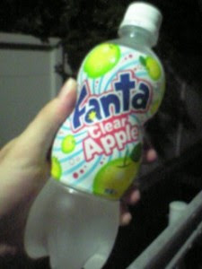 Fanta Clear Apple