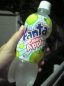 Fanta Clear Apple