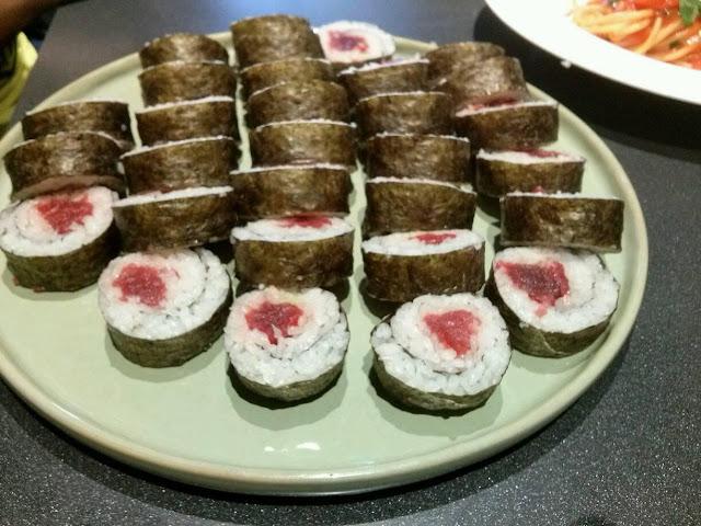 sushi chef con la coppola