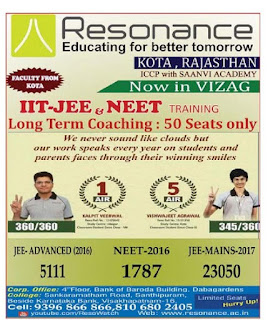 RESONANCE COACHING CENTRE VISAKHA