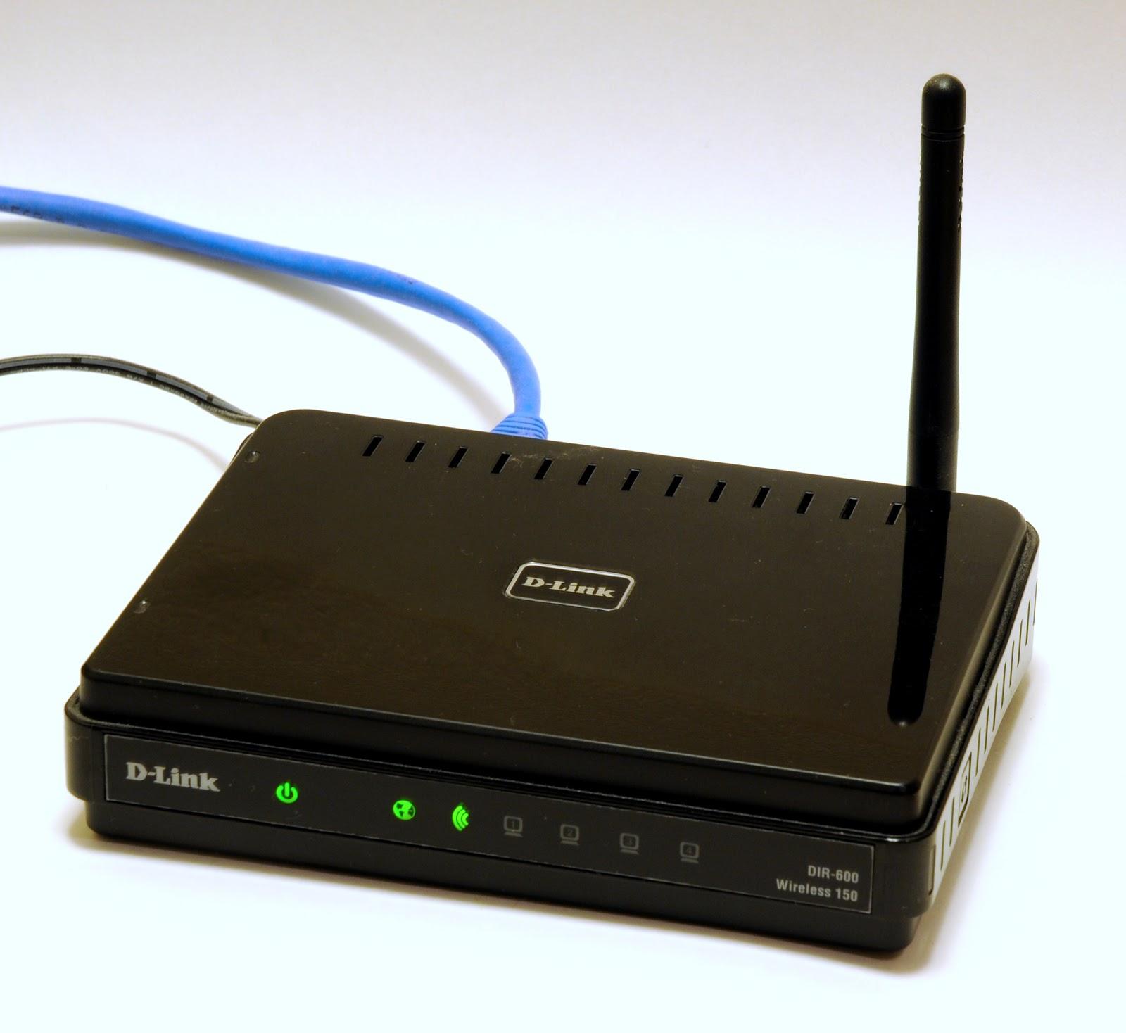 ワイヤレスルーターのD-LinkのDIR 600