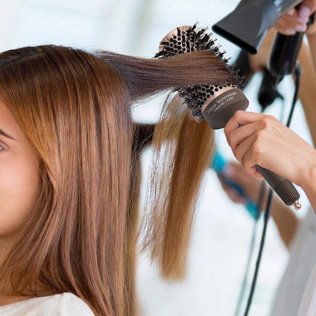Fine Hair Blowout