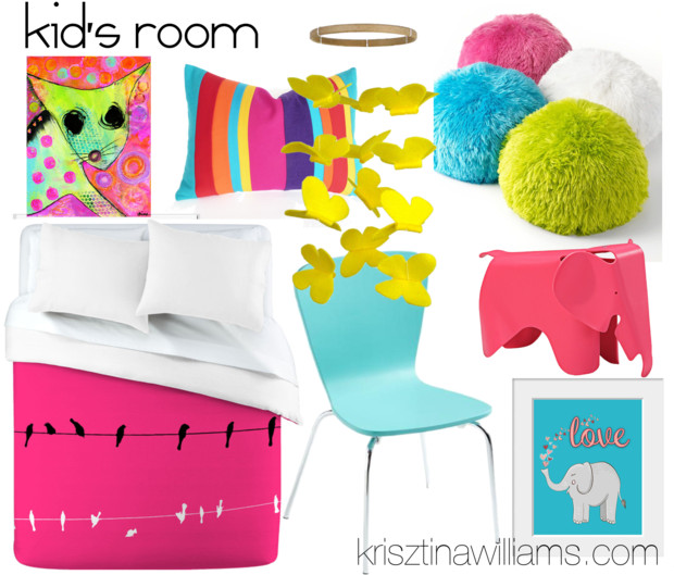 Home Decor Trend 2013: A Splash of Neon for Every Room
