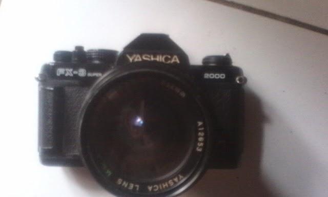 Yashica FX-3 super 2000 depan