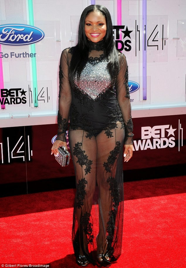 article 2674348 1F40866800000578 963 634x914 Red Carpet photos from 2014 BET Awards + Full List of Winners