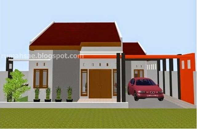 Desain rumah minimalis 1 lantai pilihan