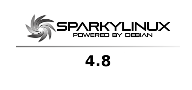 Sparky Linux 4.8 Banner