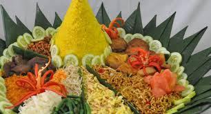 Nasi tumpeng / Nasi kerucut jejak para leluhur