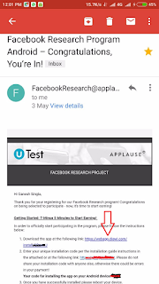 facebook research app download link