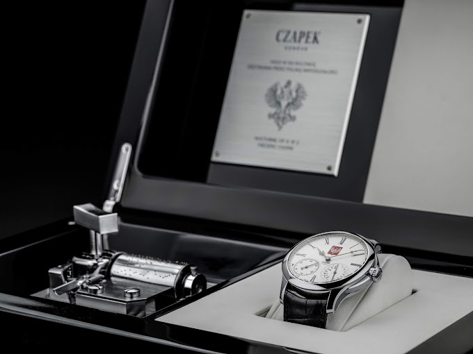 Czapek celebrates Poland with a hand painted limited edition