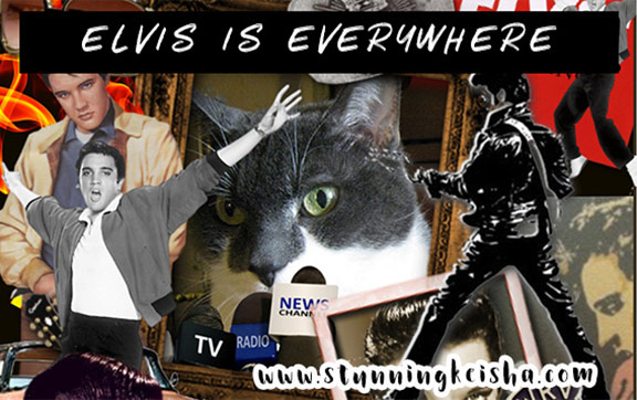 Elvis is Everywhere #MusicMonday