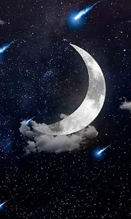 Moon editing background by learningwithsr,night moon editing background