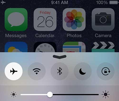 iPhone modo avion