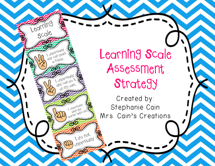 Learning Scale Freebie!