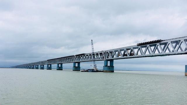 India's longest rail bridge