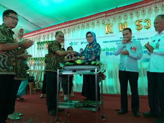 Hadiri Puncak PERINGATAN HKN KE 53, Tatong Bara: Utamakan Prioritas Kerja dan Tanggung Jawab