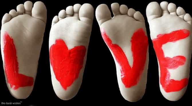 feet baby love image