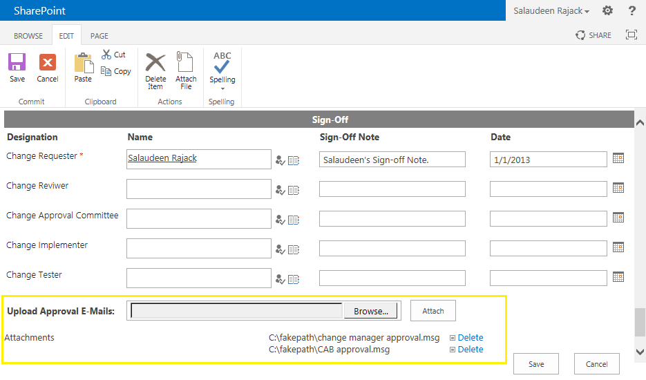 add attachment field to sharepoint form