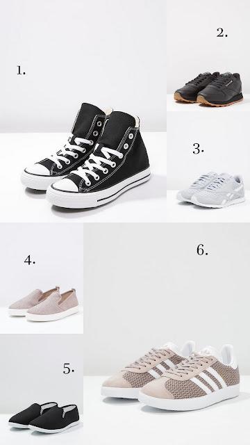 Kegät, Vapaa-ajan tennarit, Converse, Adidas, Reebook, City tennarit,