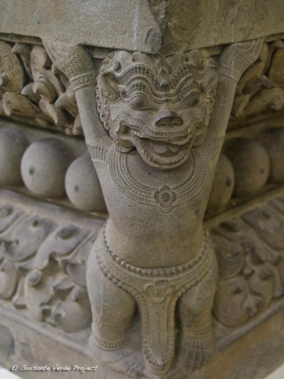 Escultura Cham, Da Nang, Vietnam por El Guisante Verde Project