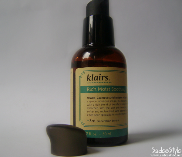 Klairs Rich Moist Soothing Serum Review
