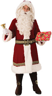 Mens Old Time Santa Suit