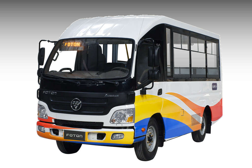 foton modern puv production philippines jeep showed version motor inc its