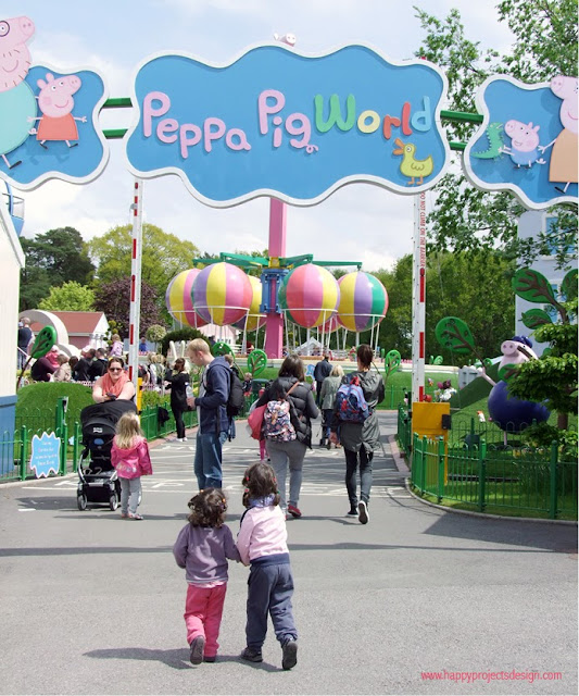 Escapada familiar a Peppa Pig World