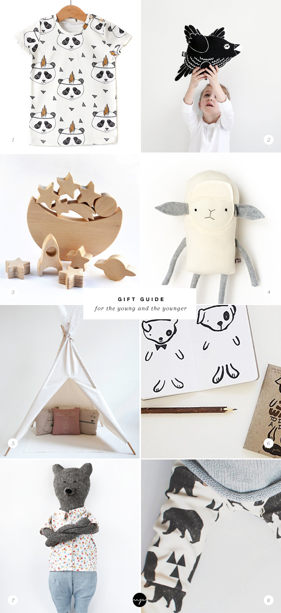 GIFT GUIDE: The young and the younger #kidsgiftguide #handmade #gifts #kids #toddlers #babies #etsy