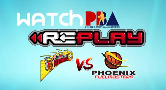 Video List: SMB vs Phoenix game replay December 17, 2017 PBA Philippine Cup