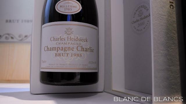 Champagne Charlie 1985 - www.blancdeblancs.fi