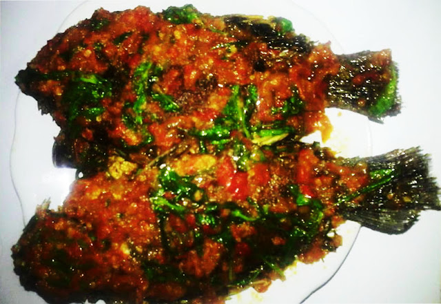 Ikan Mujahir Sambal Kemangi