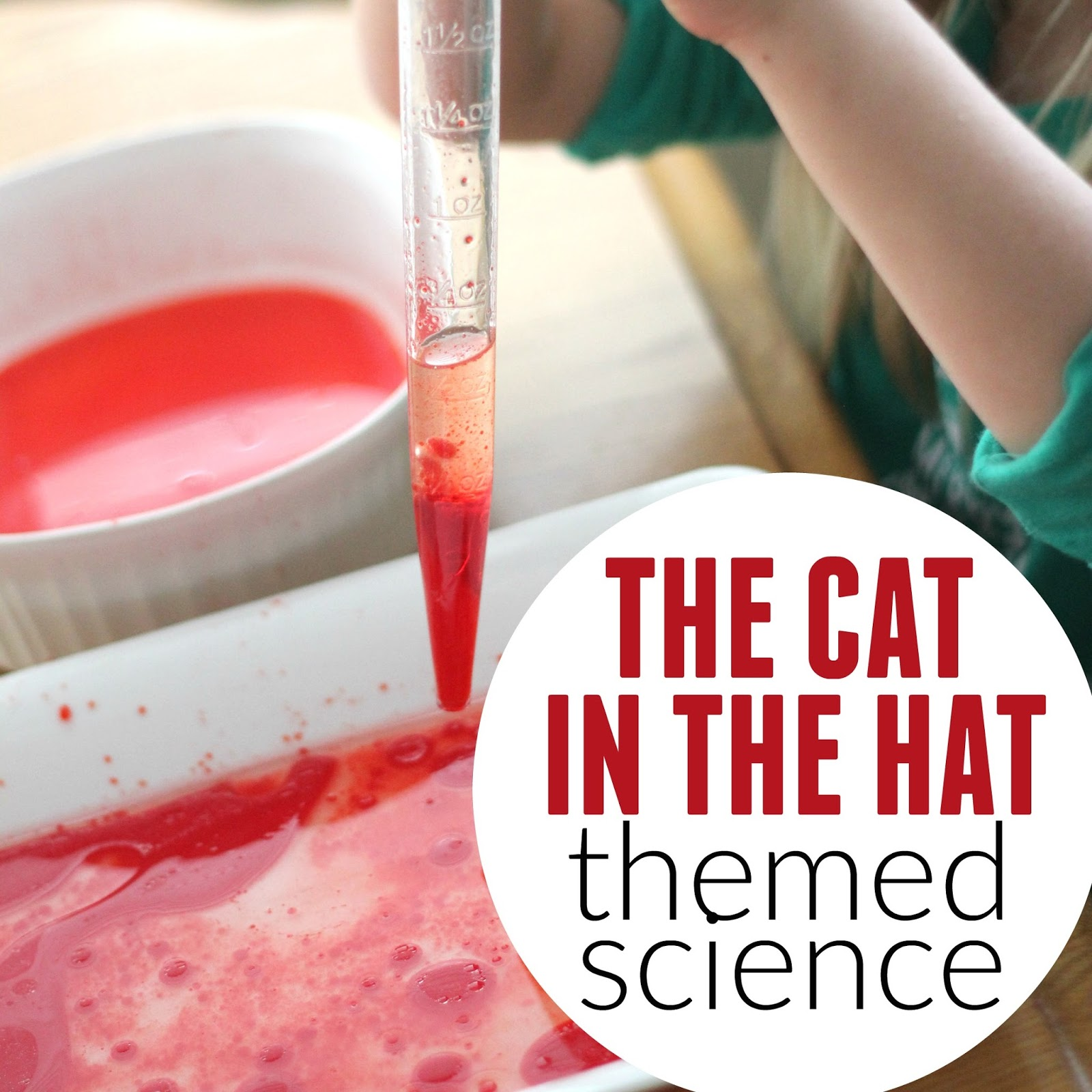 0ca55d54 For Virtual Book Club for Kids this month we are reading The Cat in the Hat  by Dr. Seuss. We love doing Dr. Seuss theme science activities so this  month we ...